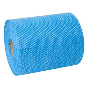 Antibacterial J Cloths on Roll Blue